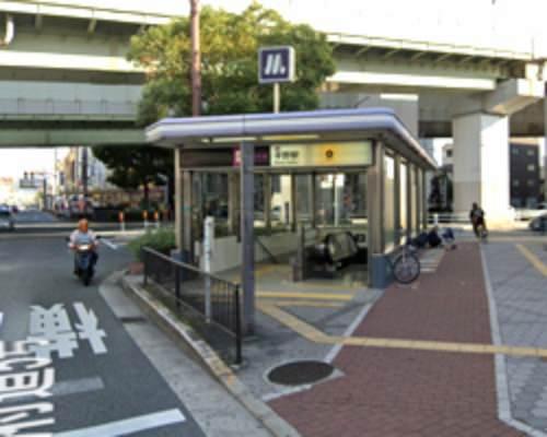 平野駅 6番出口